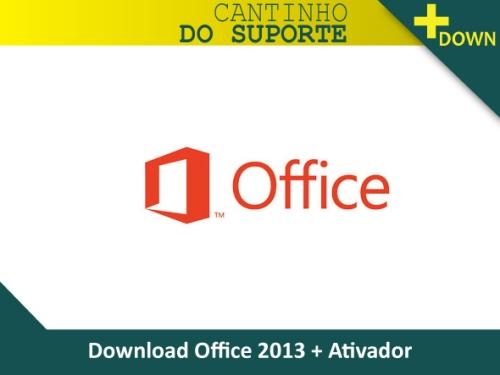 download office 2013 + ativador pt-br